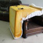 乳膠泡棉的椅座與靠背