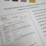 SGS耐磨檢驗報告