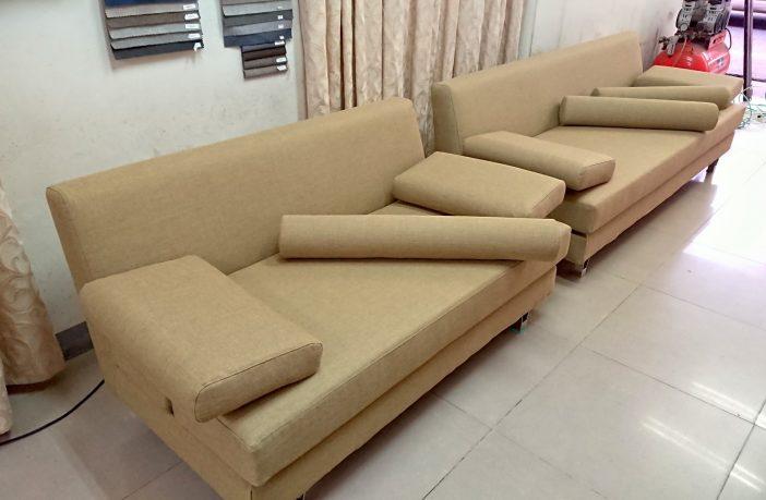 布沙發/沙發椅墊修理成品